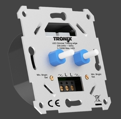 Tronix Europe - 215-135 - serie led-dimmer 2x 2-100w led aan/uit functie fase afsnijding